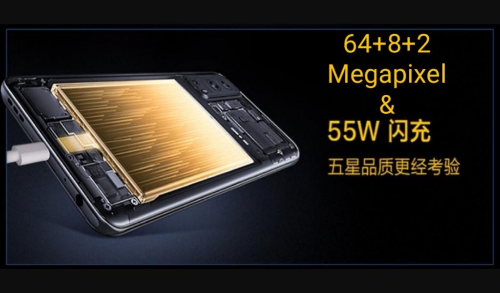 Vivo iQOO Z3 andalkan kamera 64MP dan fast charging 55W