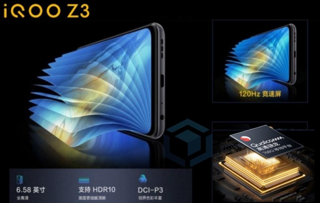 Vivo iQOO Z3 rilis dengan Snapdragon 768G & layar 120Hz
