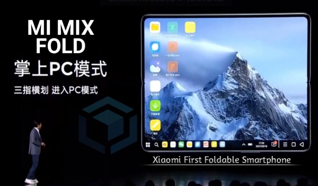 Xiaomi Mi Mix Fold rilis sebagai ponsel layar lipat pertama
