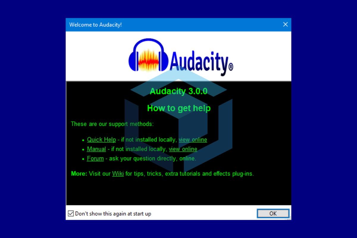 Audacity 30