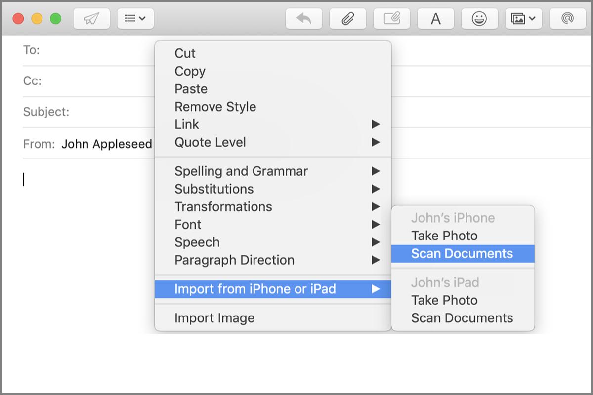 Aplikasi document scanner iPhone