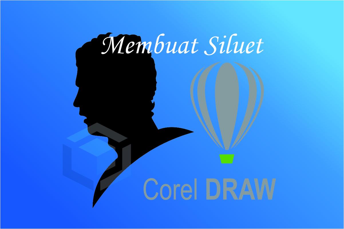 Membuat siluet dari gambar dengan pen tool CorelDraw