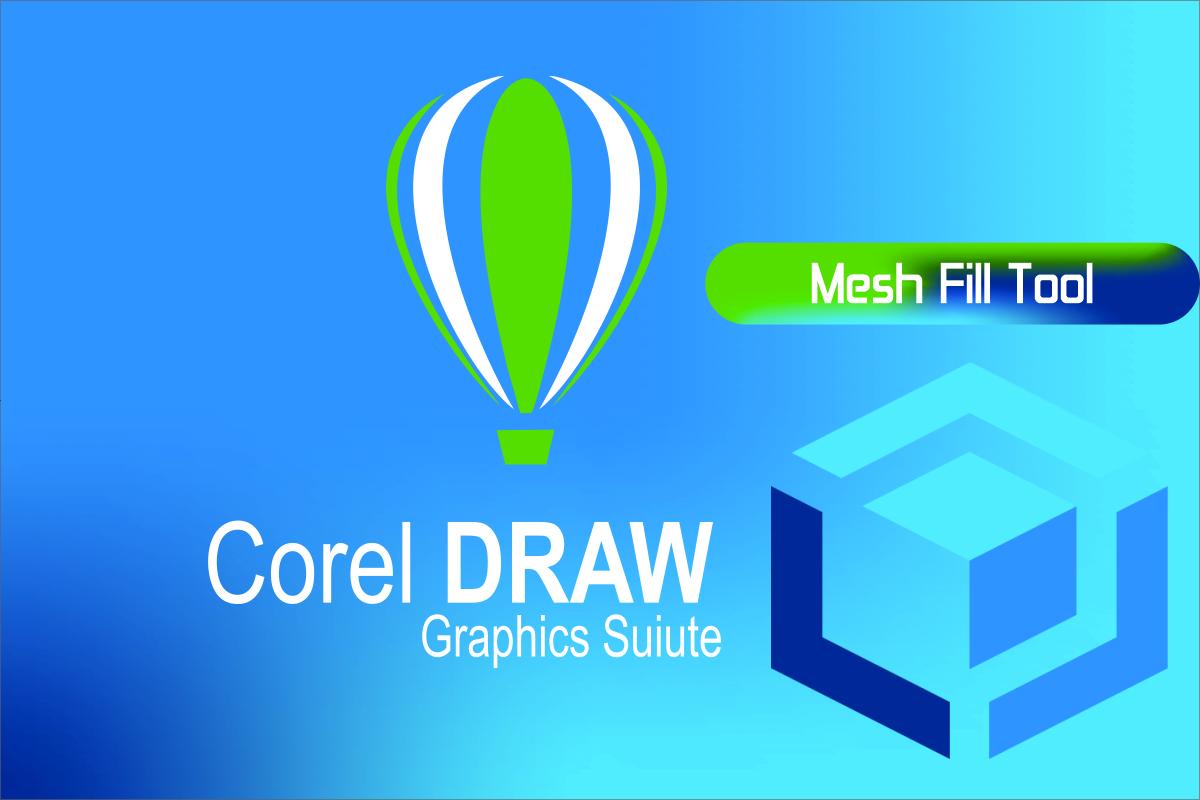 Memberikan multi warna pada objek dengan Mesh Fill CorelDraw