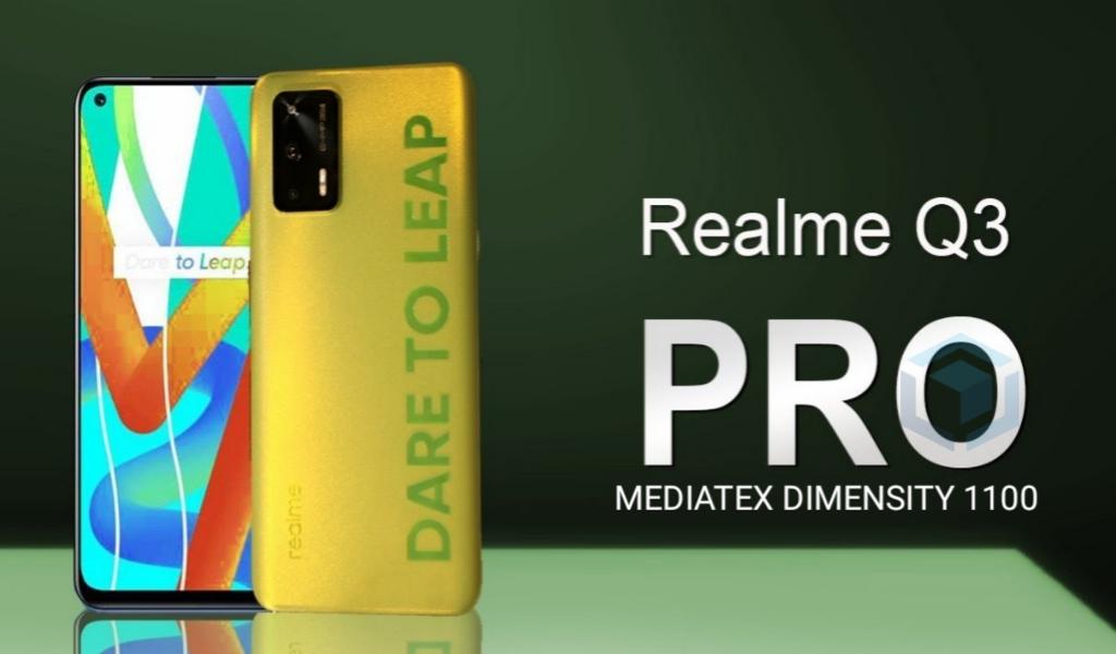 Realme Q3 Pro akan rilis hari ini dengan Dimensity 1100