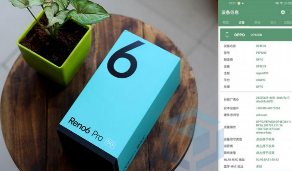 Siap rilis, spesifikasi Oppo Reno6 Pro gunakan Dimensity 1200