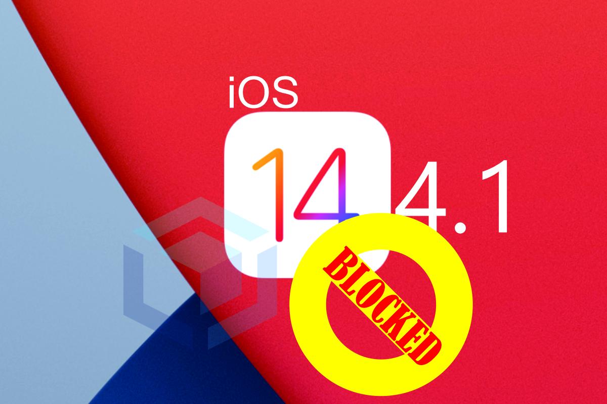 Apple memblokir downgrade iOS 14.4.2