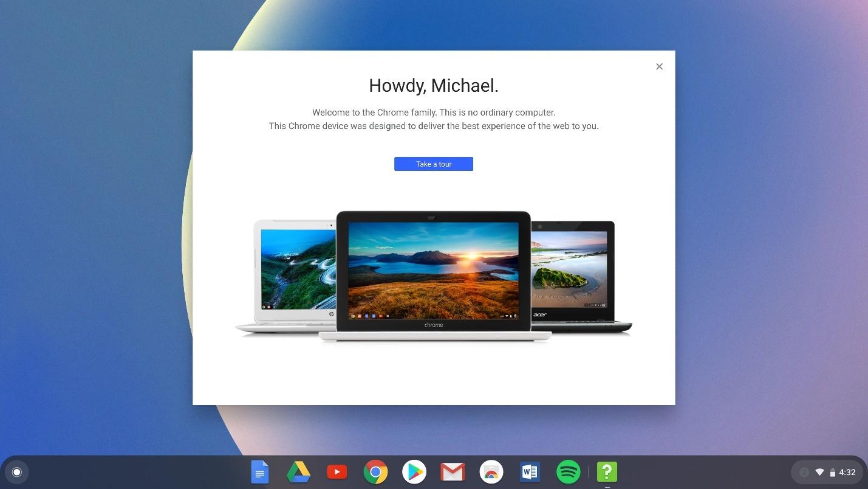 terinstal di Chrome OS