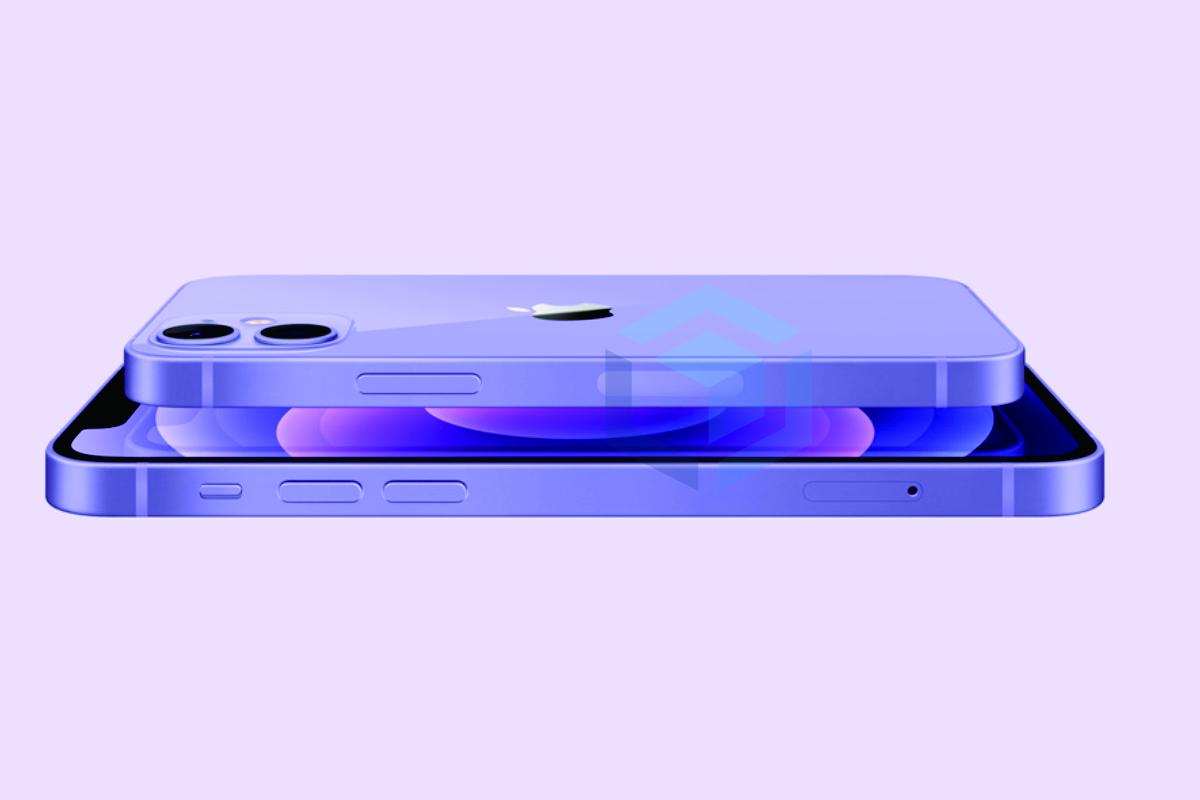 iphone edisi terbatas dengan warna ungu