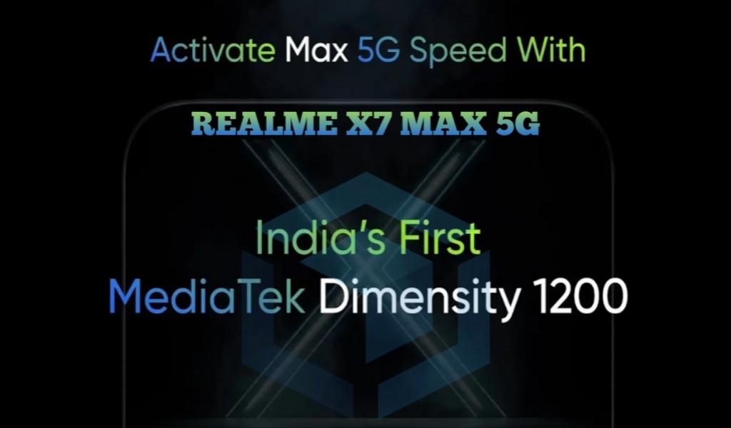 Realme X7 Max 5G disiapkan dengan chipset Dimensity 1200