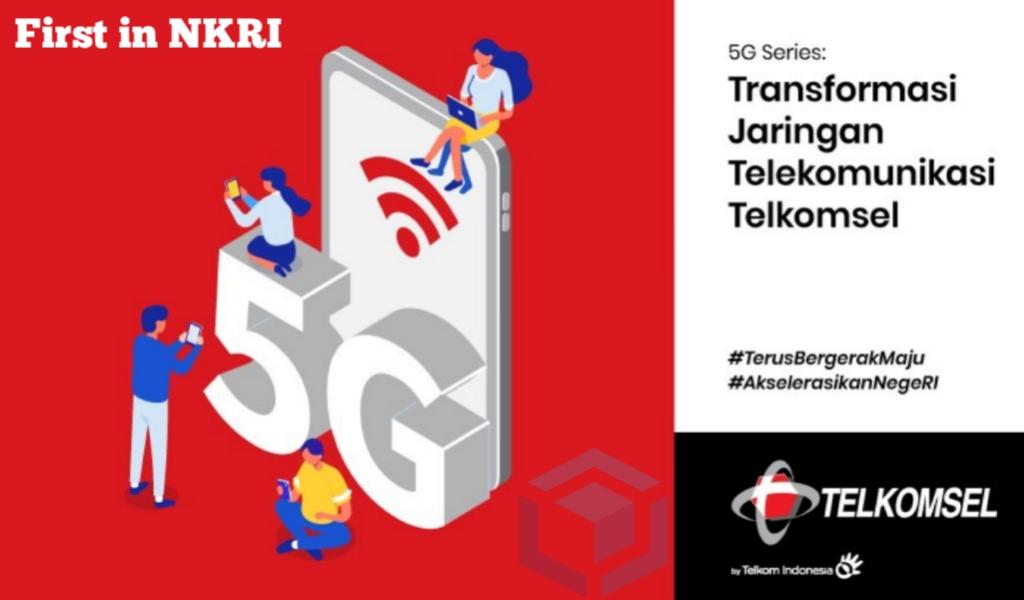 Jaringan 5G Telkomsel bisa dinikmati mulai tanggal 27 Mei 2021