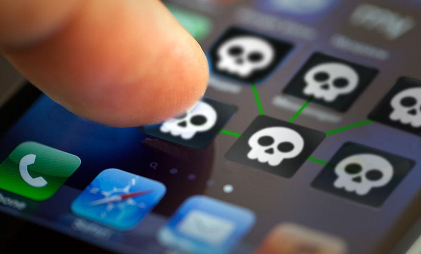 menginstal malware di iPhone