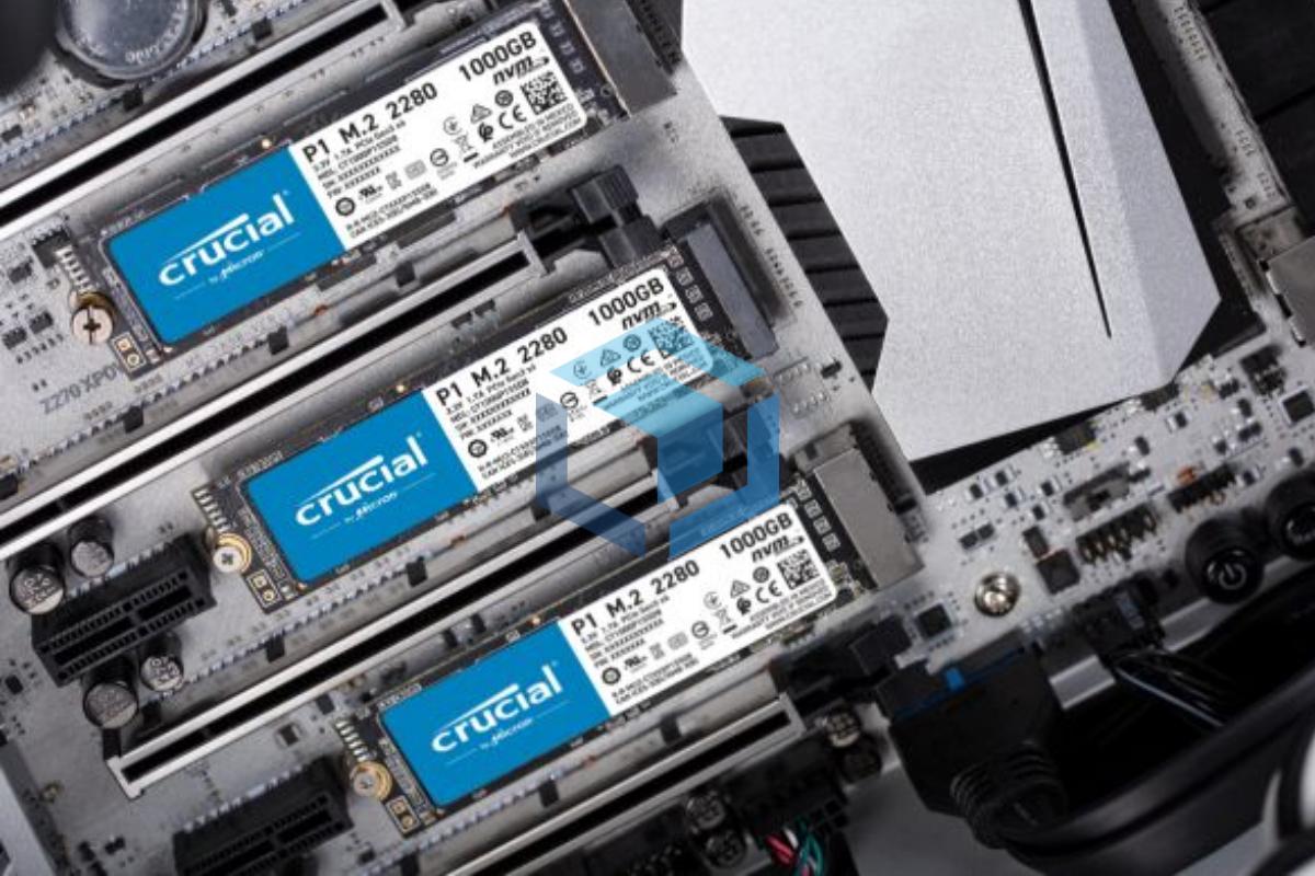 SSD Gaming Crucial P1 1TB NVMe