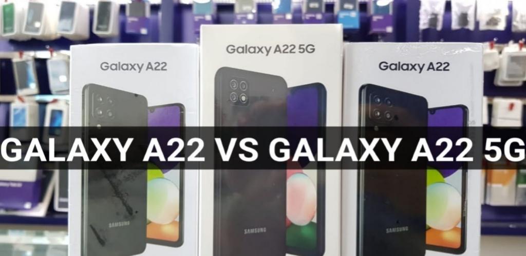 Perbedaan kamera dan System of Chip Samsung Galaxy A22 dan A22 5G