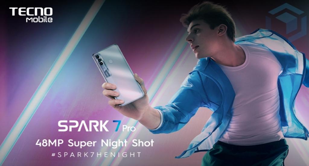 TECNO Spark 7 Pro, Ponsel murah dengan spesifikasi tinggi