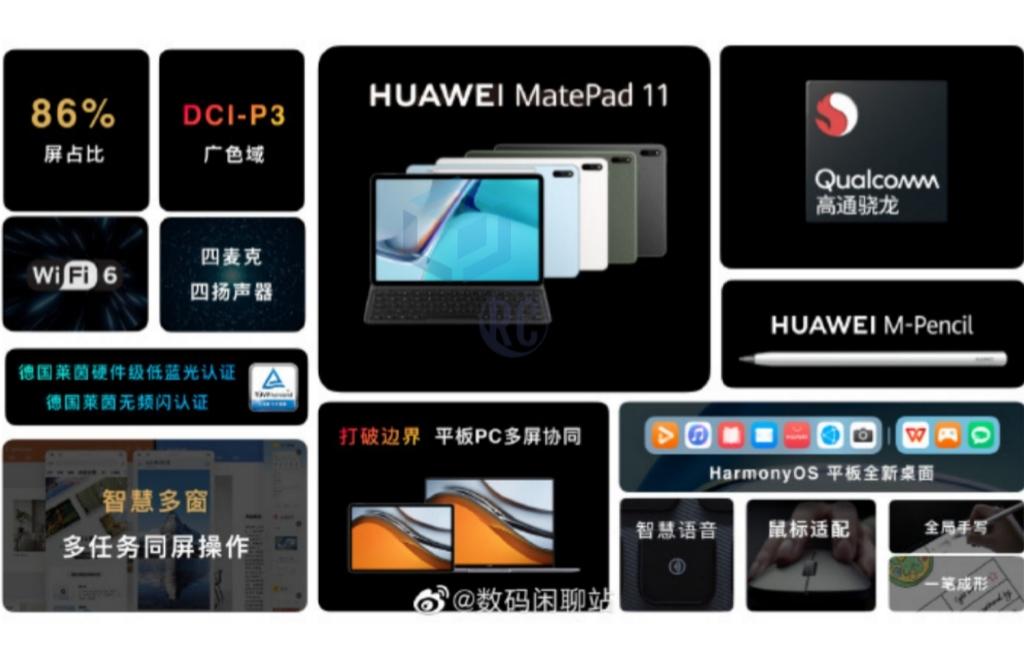 Tablet Huawei MatePad tawarkan layar 120Hz dan baterai 7250 mAh