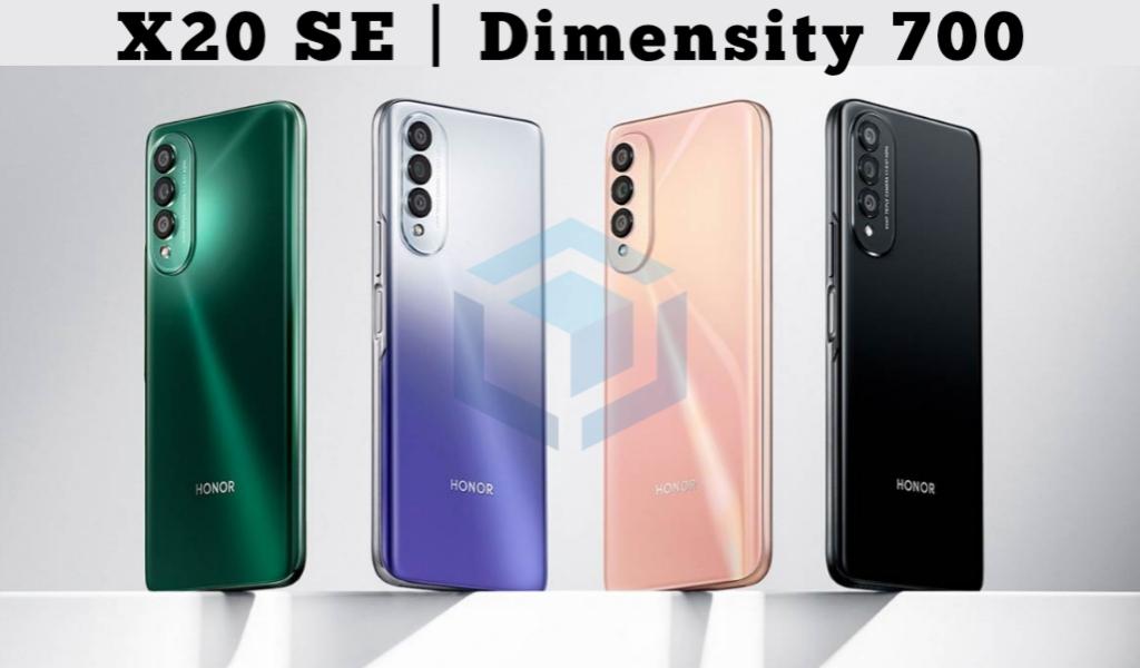 Honor X20 SE resmi diumumkan dengan SoC Dimensity 700
