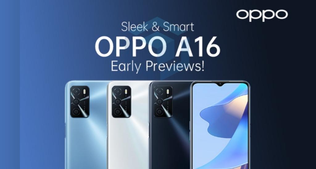 Ponsel murah Oppo A16 akan segera rilis dengan SoC Helio G35