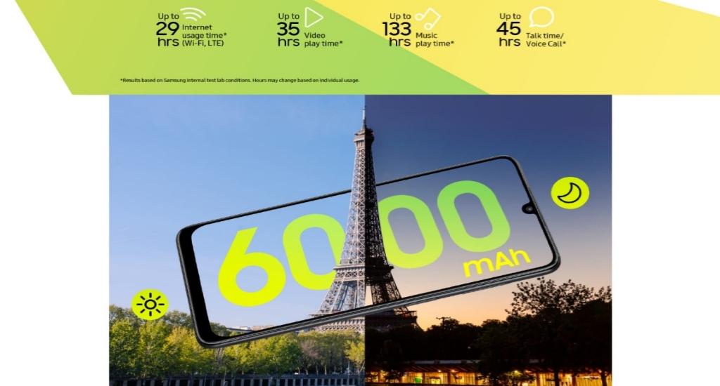 Samsung Galaxy F22 tawarkan layar 90Hz dan baterai 6000 mAh