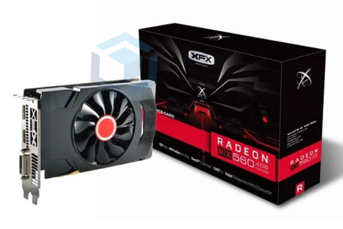 Kartu grafis murah XFX RX-560D4SFG5 Radeon RX 560