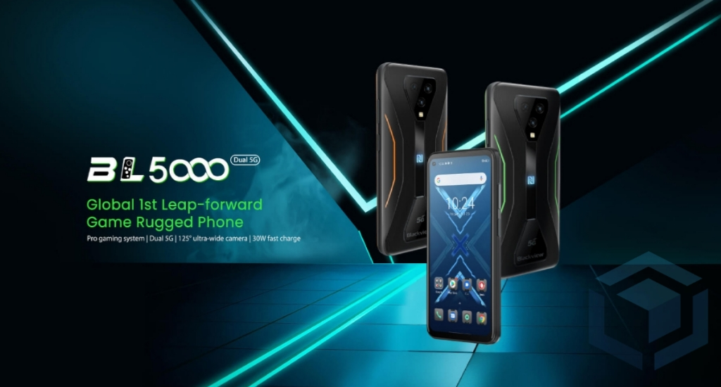Blackview BL5000, ponsel gaming tangguh yang resmi rilis