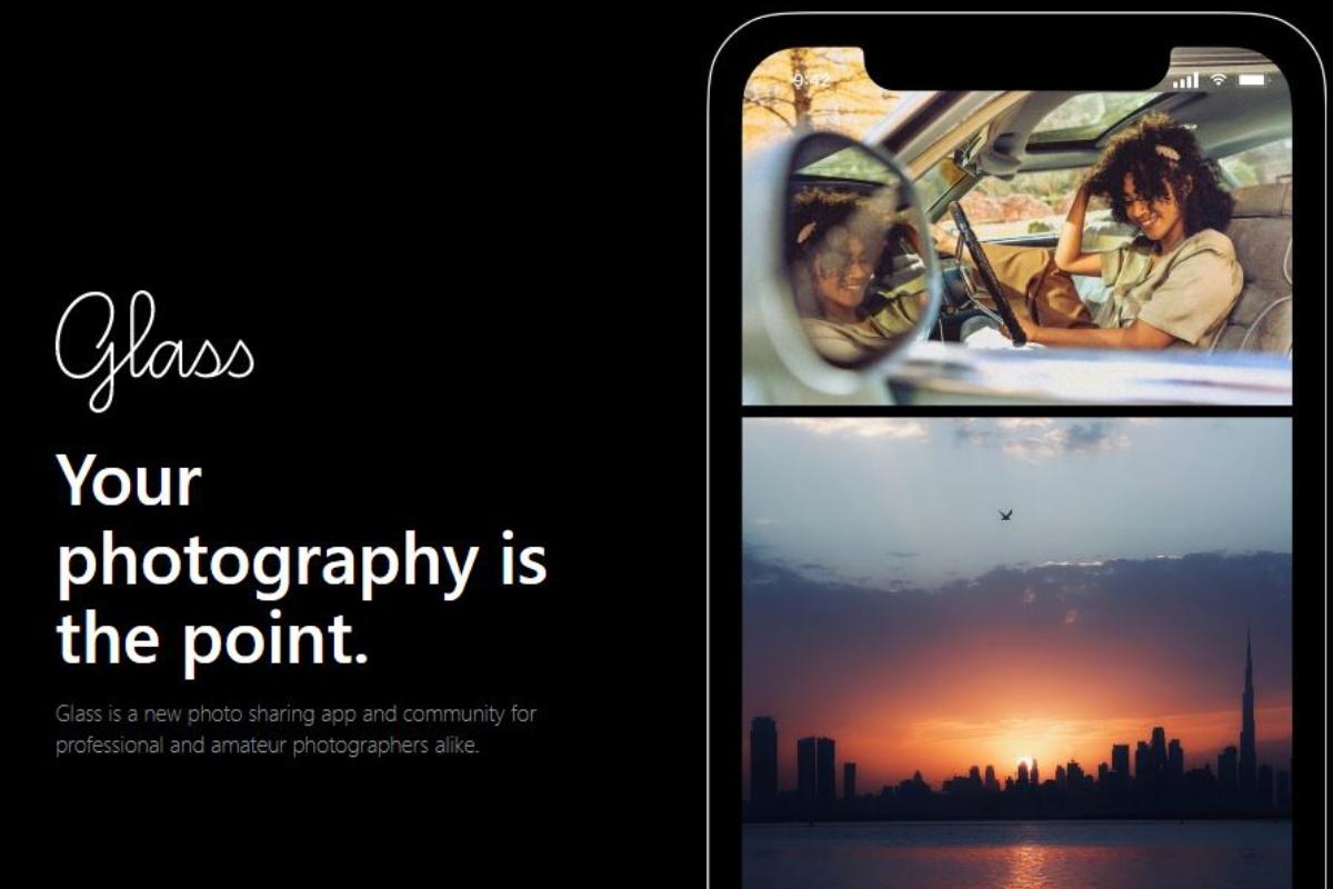 aplikasi glass photo